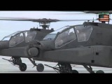 US Attack Helicopter AH-64 Apache - Апачи АН-64