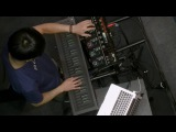 Heen-Wah Wai performs with the Seaboard RISE and a Boss RC-505 at Musikmesse