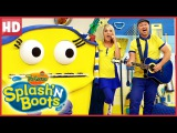 Splash'N Boots Sleepy Bug Big Yawn Funny Show for Kids!