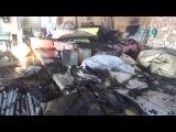 آثار الدمار في منطفة المعامل الصناعية جرا&#15