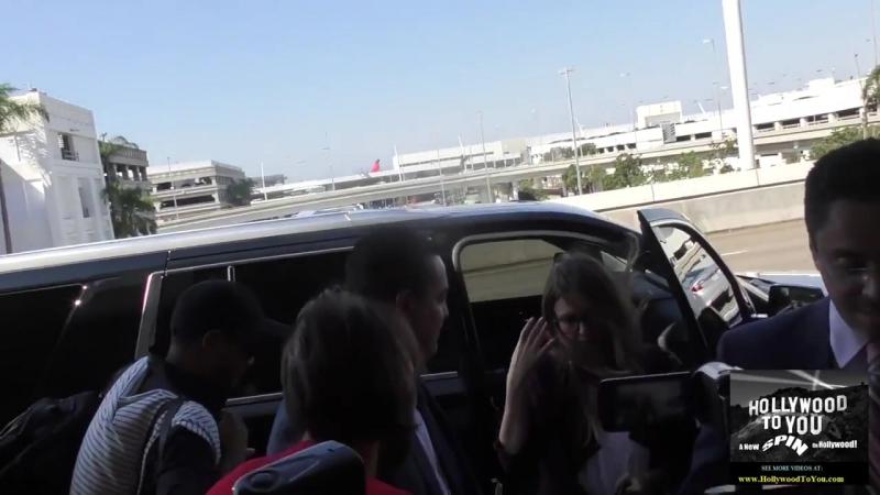Джессика в аэропорту «LAX», 6 сентября 2017.