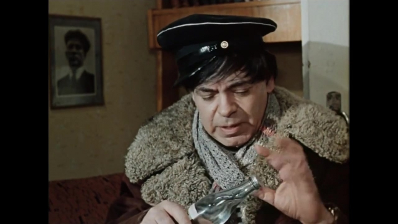 Аркадий Райкин в сатирической новелле Волшебная сила искусства 1970год