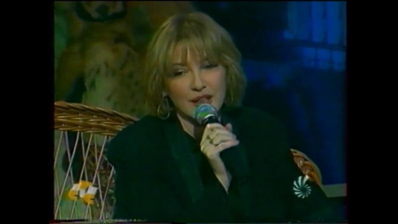 Екатерина Семёнова в гостях на программе Час Совы, канал СТС (1997 г.)