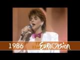 1986 Sandra Kim - Jaime la vie (Бельгия) (Eurovision - Евровидение 31)