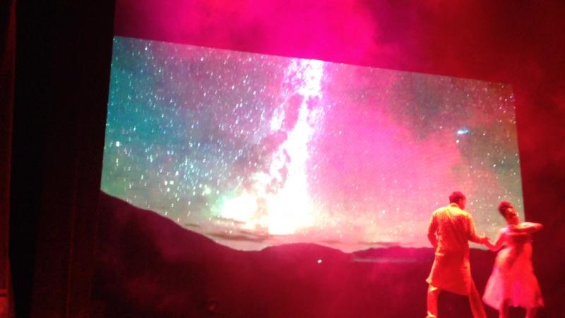 Индийское шоу в театре Комиссаржевской. 15 ноября 2017.