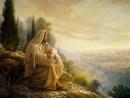 Кто из вас без греха пусть первый бросит в нее камень Мессия и фарисеи у Храма