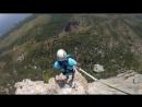 Прыжок с 230 метров, с горы Шаан-Кая