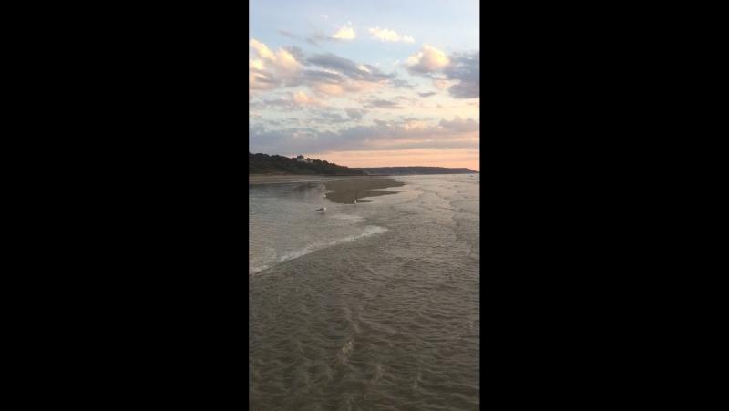 Закат и прилив в трувиле