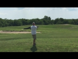 Гигантский Аллигатор Прогулка На Поле Для Гольфа Во Флориде / Giant Gator Walks Across Florida Golf Course