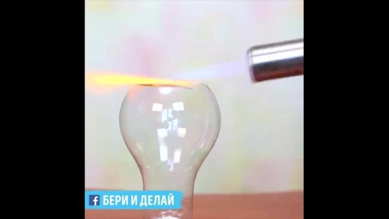 Необычные самоделки из лампочек. 💡