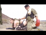 Casey Calvert - Anal Blowjob (POV) Brunette Cosplay Natural Tits Parody Soldier Girl
