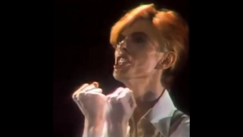 Promotion on Commercial TV for Young Americans by David Bowie