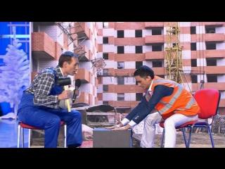 КВН 2013 Два строителя отробатывают, всем смотреть