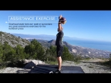 Assistance exercise for pressing- overhead lock-out and surrender