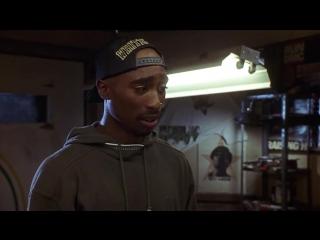 Poetic Justice. He filmed the emotional scene in Khalil's soundlab