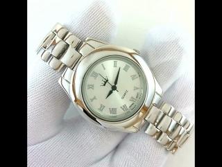 Классические Серебряные 925 Пробы Мужские Наручные Часы