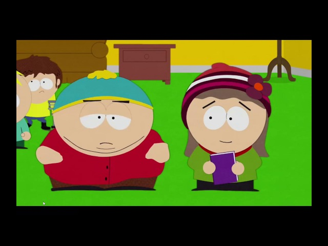 Cartman is bored of Heidi