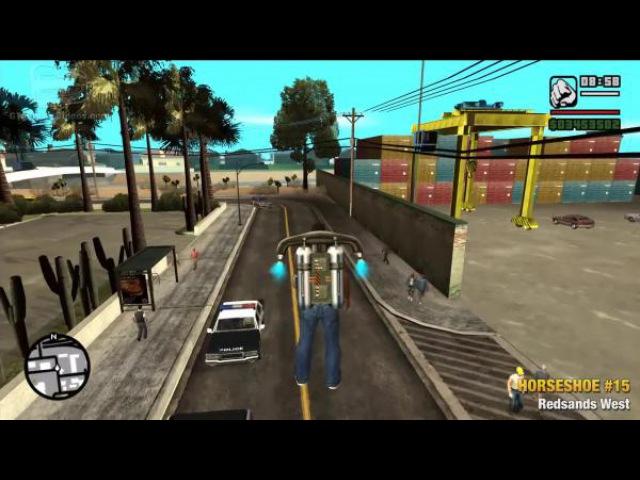 Grand Theft Auto: Подковы Сан-Андреас - Путеводитель по коллекциям / Пошаговое видео
