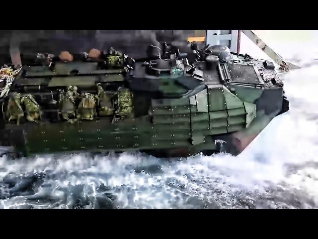 Ship Launch Beach Landing • Amphibious Assault Vehicles