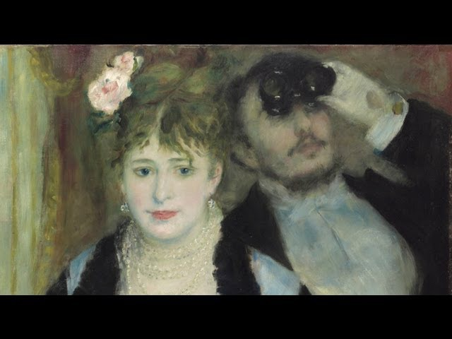 Renoir's La Loge