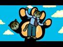 Песенки для котят - Папа-Пальчик | Считалочки - Три котенка | Мультик для малышей