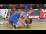 Ringen int. Brandenburg-Cup 2017 Kadetten (Freistil) - 76kg Finale 3+5