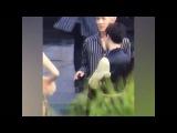 Sehun teasing Yoona about her running in The K2 drama