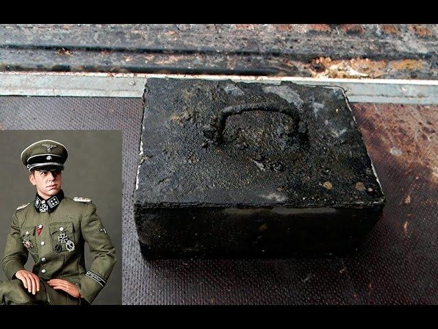 В БЛИНДАЖЕ НАЙДЕН СЕЙФ ОФИЦЕРА SS / НАХОДКИ ВОВ N 114 / WWII METAL DETECTING