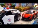 Мультик про машинки для мальчиков пожарная полицейская гоночная машина мультик...