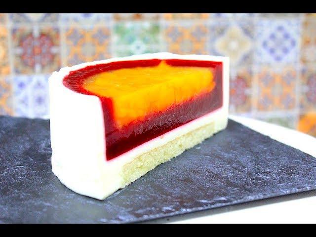Торт МУССОВЫЙ Малина Абрикос / MOUSSE CAKE Raspberry Apricot