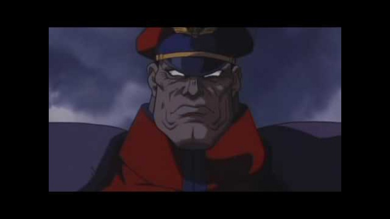 Street Fighter 2 - The Animated Movie / Ryu and Ken vs M. Bison (Vega)