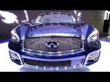 2015 Infiniti Q70L (M37)- Exterior and Interior Walkaround - Debut at 2014 New York Auto Show