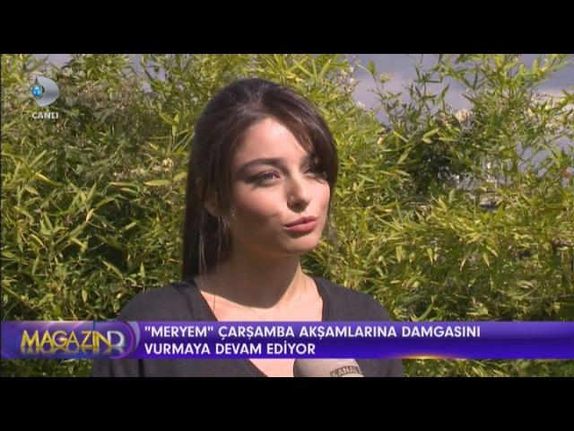 Meryem Dizisi Oyuncuları Ayça Ayşin Turan ve Furkan Andıç'tan Çok Özel Açıklamalar