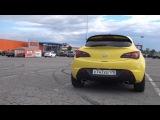Astra j GTC выхлоп от MG-RACE