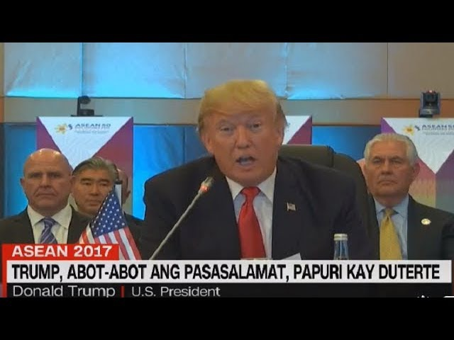 Duterte latest news November 15, 2017 | TRUMP, ABOT-ABOT ANG PASASALAMAT, PAPURI KAY DUTERTE