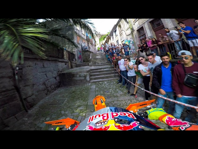 GoPro Enduro MX Racing the Back Alleys of Portugal with Jonny Walker Extreme XL Lagares