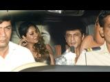Shahrukh Khan With Wife Gauri Attends Ranbir Kapoor Birthday Bash 2017