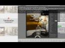 Интерьер в Corona renderer и 3Ds Max - новогодний вальс - часть 3 - DOF corona, HDRI и PS плагины