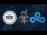 EDG vs. C9 Group Stage Day 8 2017 World Championship Edward Gaming vs Cloud9