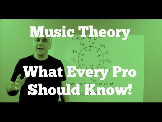Music Theory Lecture - What Every Pro Musician Needs To Know