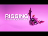 Basic 3D Bat Character Part 3 - Rigging