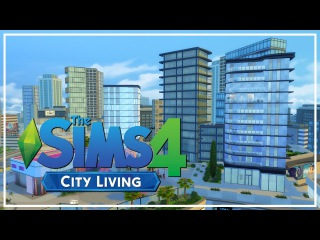 The Sims 4: Apartment Speed Build - City Living