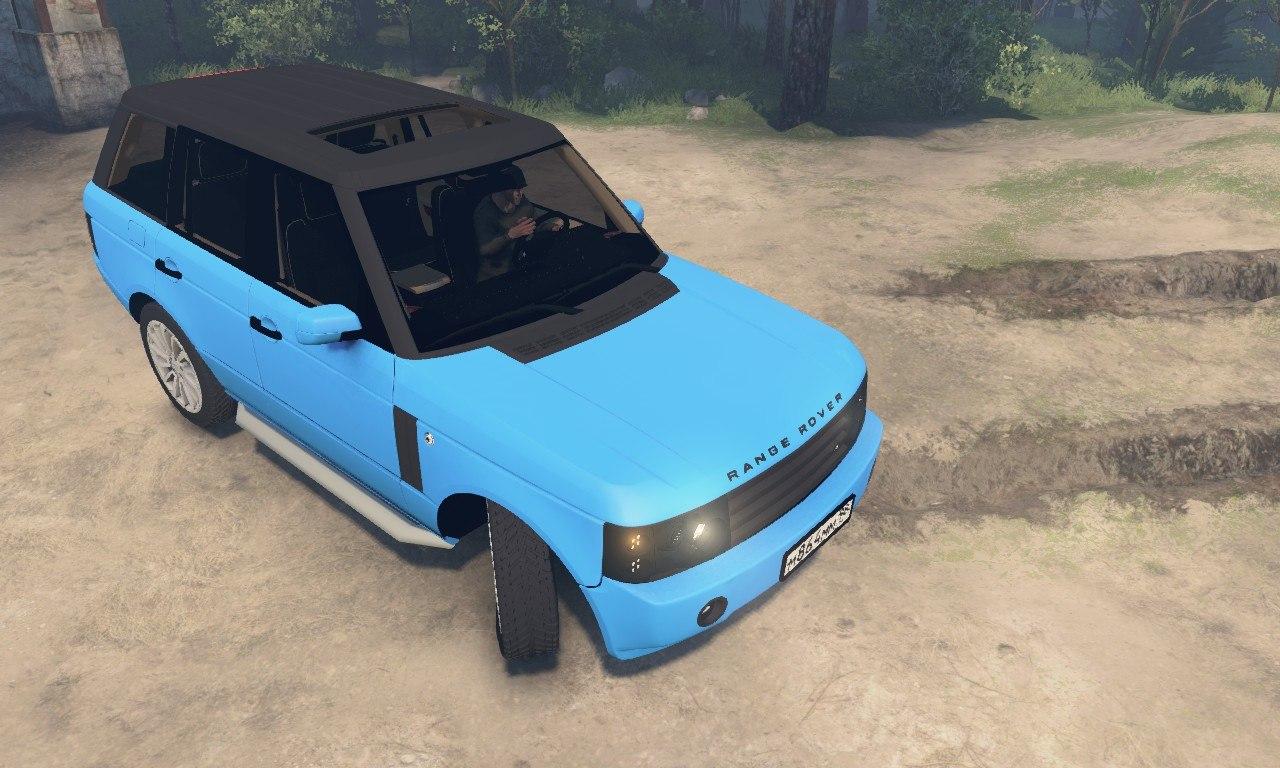 Range Rover Pontorezka для 03.03.16 для Spintires - Скриншот 1