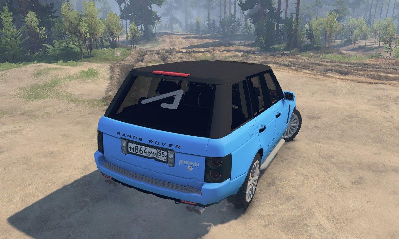 Range Rover Pontorezka для 03.03.16 для Spintires - Скриншот 2