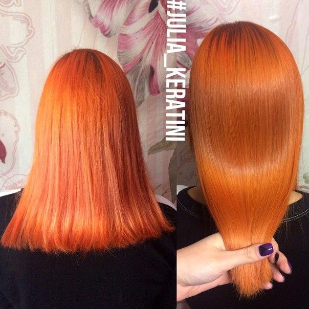 Кератиновое выпрямление и ботокс волос казань