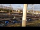 Столкновение тепловоза с грузовым поездом 19 10 17 по ст Лоста