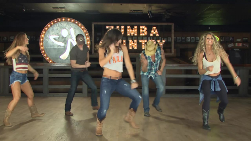 Zumba Country - 09 Hold My Hand - Cooldown - Cues On