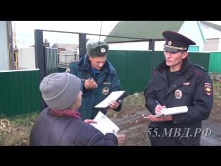На территории Марьяновского района полицейскими проведена операция «Правопорядок–улица»