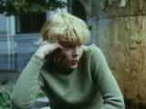 Грустная песня: «Шуршит занудно дождик моросящий. Душа моя в тревоге и тоске» (Приключения Электроника, 1980)