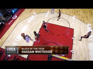 Блок-шот года: Хассан Уайтсайд